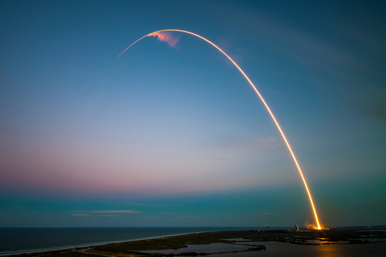 une fusée SpaceX