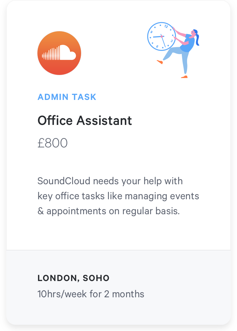 Freelance task office management
