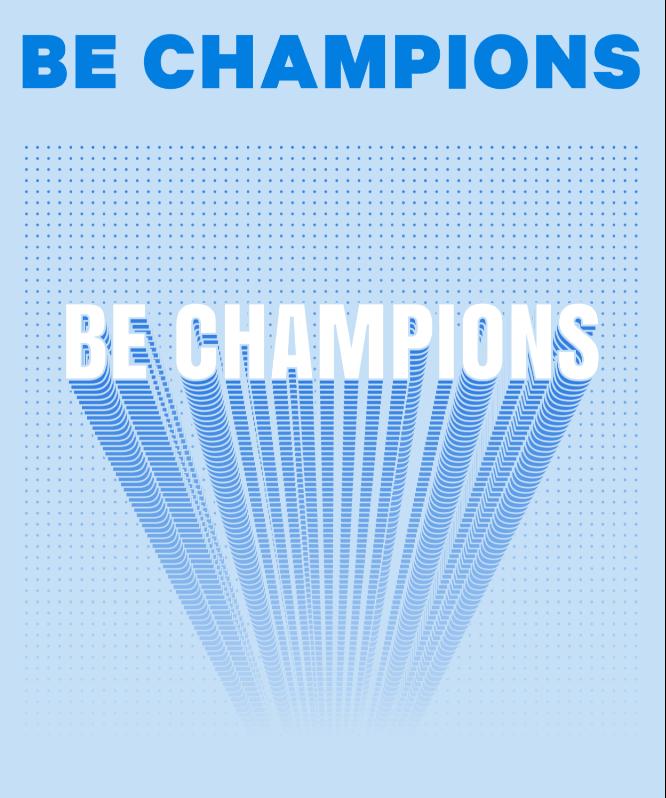 Deuxième valeur : Be champions